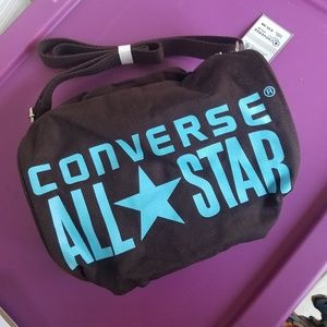 Converse ALL STAR Chocolate Duffle Roll Bag NWT
